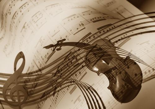 Musician Concert Treble Clef Music Violin Sound