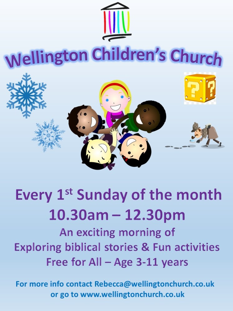 Children's church 2018 small flyer