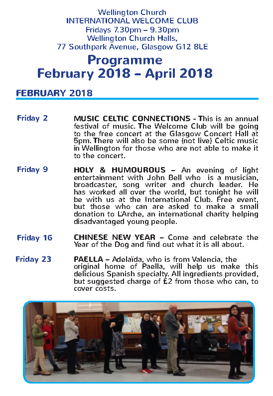 Spring 2018 programme 1