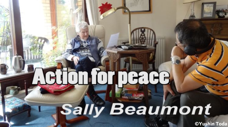 action foe peace sally beaumont