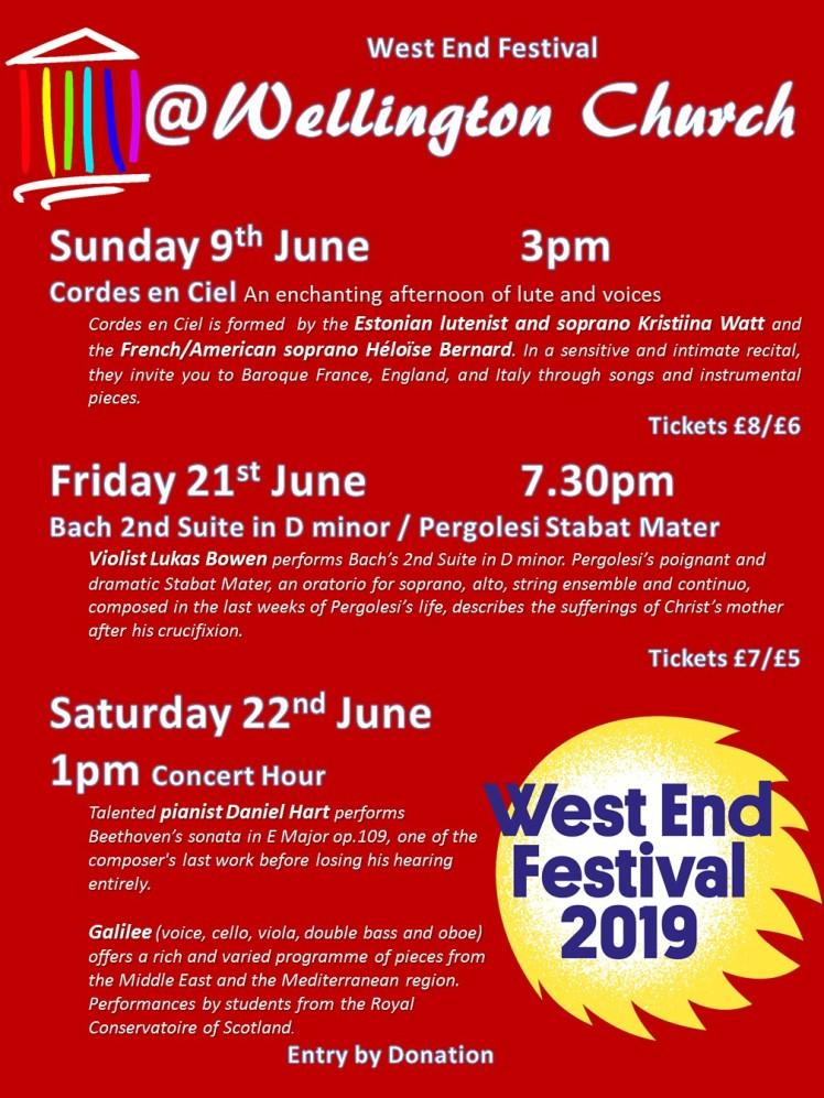 2019 West End Festival 2