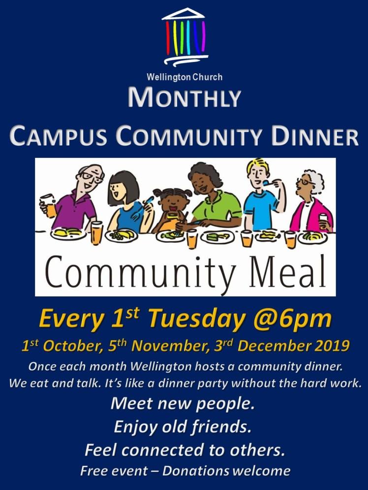 2019 Community Dinner