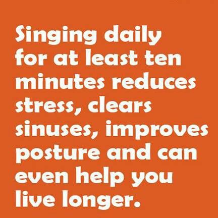 Singing Benefits