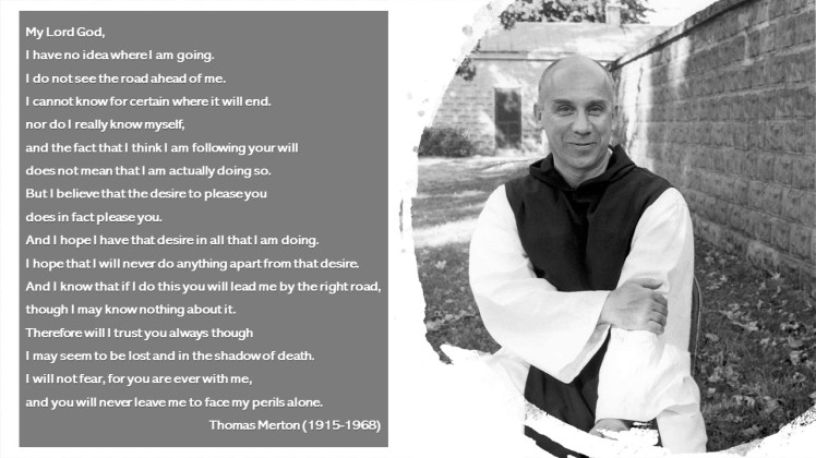 2020 Thomas Merton Prayer