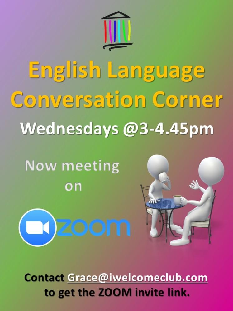 Conversation Corner ZOOM