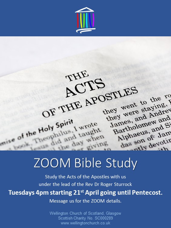 ZOOM Bible Study Acts