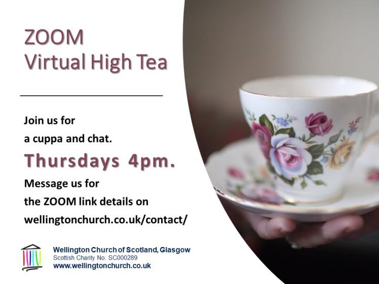 ZOOM High Tea